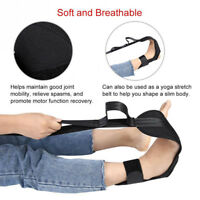 Black Reinforced Yoga Stretch Auxiliary Ankle Ligament Stretcher Correction Tool