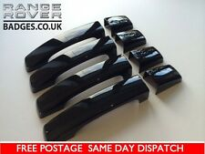 RANGE ROVER SPORT BLACK DOOR HANDLES DISCOVERY FREELANDER COVERS