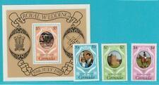 Grenada Royal Wedding 1981 ** postfrisch MiNr. 1097-1099 + Block 96