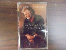 "NEW SEALED ""Kenny Rogers"" If Only My Heart Had a Voice    Cassette Tape (G)"