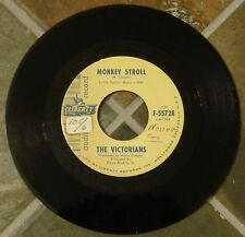 "45 RPM Popcorn Rock By The Victorians, ""Monkey Stroll"" on Liberty (Promo)"