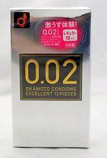 Okamoto 0.02 EX Polyurethane Condom 12pc | Regular Size (USA Seller)