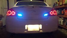 Blue LED Reverse Lights/Back Up Mitsubishi Lancer 2002-2006 2003 2004 2005
