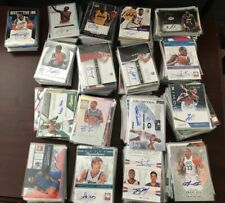 BASKETBALL WHOLESALE 3 AUTO / GAME USED CARDS INSERT ROOKIE 12 CARD DELUXE PACK