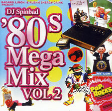 DJ SpinBad 80's Mix Scratching Blending Mash Ups Old School Pop (Mix CD) Mixtape