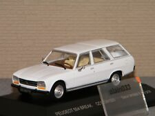 PEUGEOT 504 BREAK BLANCHE ODEON 1/43 Ref 025