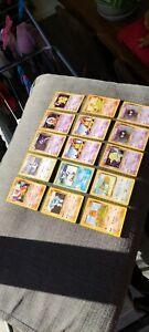 Lot de 28 Cartes Pokémon Set de Base Wizard Fr Tbe