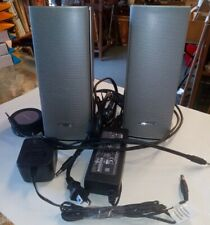 Used Bose Companion 20 Multimedia Speaker System - Silver / Tested AWESOME!