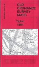 OLD ORDNANCE SURVEY MAP TIPTON 1884