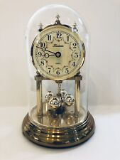 Vintage Forestville Anniversary Desk Clock With Battery Made In Germany