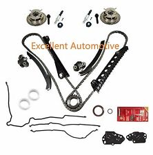 5.4L F150 F-250 F-350 Lincoln Timing Chain Kit w/ Cam Phasers Solenoid Gasket