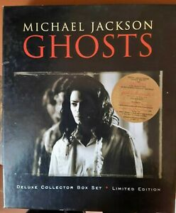 Michael Jackson - GHOSTS - Deluxe Collector Box Set - Rare Limited Edition
