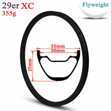 29 inch MTB Flyweight mountain bike XC carbon rim for 35mm wide 25mm deep