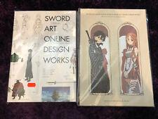 Sword Art Online Artbook Staffel 1 + 2 Selten!!
