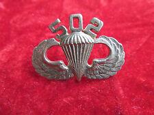 Vietnam 502nd PIR Parachute Infantry Regiment Jump Wing Airborne 101st airborne