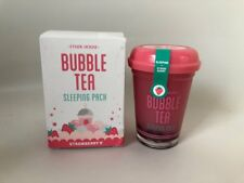 [ETUDE HOUSE] BUBBLE Tea sleeping pach straberry/3.5 oz/100g
