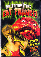 Killer Tomatoes Eat France (DVD, 2005) New