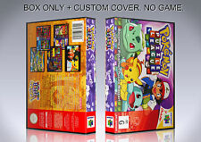 POKEMON PUZZLE LEAGUE. PAL. Box/Case. Nintendo 64. BOX + COVER. (NO GAME).