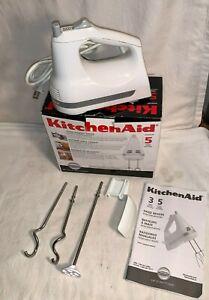 KITCHENAID Ultra Power HAND MIXER KHM5AP 5 Speed DOUGH HOOKS Blender Rod KHM5AP