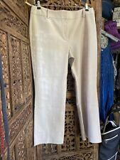 Nouvelle annonce Marks & Spencer'S taille 14 Beige Crème été Pantalon avec Stretch