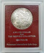 1897 S Morgan Dollar Redfield Collection Hoard Pedigree Paramount Rim Toning