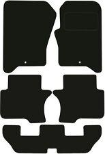 Land Rover Discovery 7 asientos de lujo calidad adaptados Tapetes 2009 2010 2011 2012