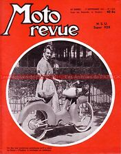MOTO REVUE 1255 NSU 125 Super Fox ONDINE PEUGEOT AUTOMOTO BSA Eric OLIVIER 1955