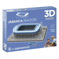 Puzzle 3D Estadio Municipal de Riazor (Producto Oficial Deportivo de La Coruña)