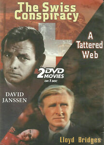 The Swiss Conspiracy + A Tattered Web DVD DOUBLE - David Janssen Lloyd Bridges