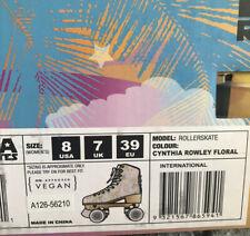 Impala - Quad Roller Skates   Vegan - Womens   Cynthia Rowley / Floral - Size: 8