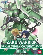 1/100 Mobile Suit Gundam SEED DESTINY Zaku Warrior + Blaze Wizard & Gunner W...