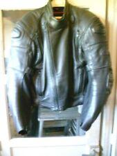 HEIN DERICKE : Ancien blouson Moto cuir Homme  avec renforts taille 48