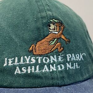 Jellystone Park Yogi Bear Baseball Hat Snapback Cap Youth Boys Ashland NH Green