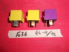 BMW E21 E30  E36 Z3 Relais Wechsler violett 1388911 / Klima Relais gelb 1388105
