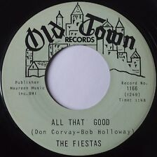 NORTHERN SOUL: THE FIESTAS ~ ROCK A BY BABY ~ 45 on OLD TOWN ~ HEAR IT