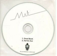 (AS910) Mat (I think - see scan), Good Book - DJ CD