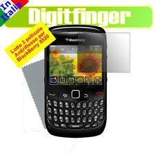 PELLICOLA PROTEGGI LCD X BLACBERRY 8520 CURVE 3 PEZZI