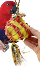03415 Large Diamond Bird Toy Cage Toys Cages Foraging Chew Shredder