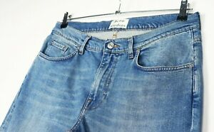 ACNE STUDIOS ACE CARTER Blue Straight Mens Jeans Size 34 *L32 Made in ITALY