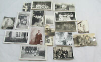 Lot of 33 Vintage BW Small 1950s Family/House Photo Photographs