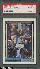 1992-93 Topps #362 Shaquille O'Neal Orlando Magic RC Rookie HOF PSA 10