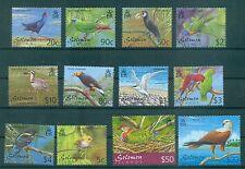 OISEAUX - BIRDS SOLOMON ISLANDS 2001 Common Stamps