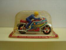 Vintage 1980s Guisval Diecast Racing Motorbike Mint In Blister No.9 MOTO GUZZI