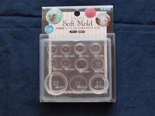 PADICO Soft Mold UV Resin & Clay Button