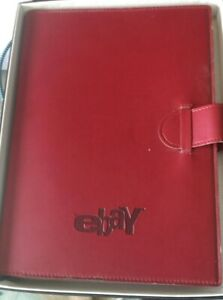 ebay Moleskine Journal Notebook eBayana Rust Color Ruled Pages 7 x 9 3/4 inches