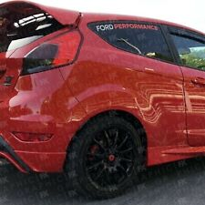 Fiesta MK 7 7.5 ST Ford Performance Rear Window Decals Stickers