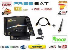 Freesat v8 Super Nuevo + HDMI + ANTENA WIFI - ENTREGA 24 48H - DESDE ESPAÑA
