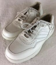 Dr. Comfort Men's White Leather Diabetic Shoes Robert STK#7040 Size 7.5W $175