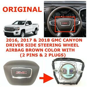 AIRBAG 2018-2019 GMC CANYON CHEVY COLORADO EXT-CAB ROOF CURTAIN DRIVER LH