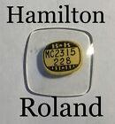 NOS Vintage 1950s Hamilton Roland Watch Glass Crystal
